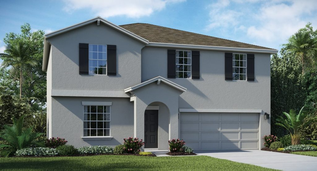 Providence home plan exterior