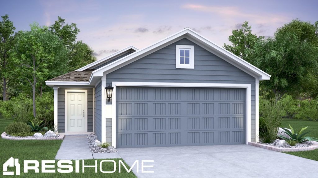 Howell Home Plan - Elevation B